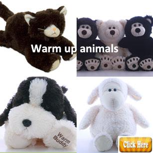 Warm up animals