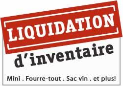 Bannière vente de liquidation Boutique LilyEcolo